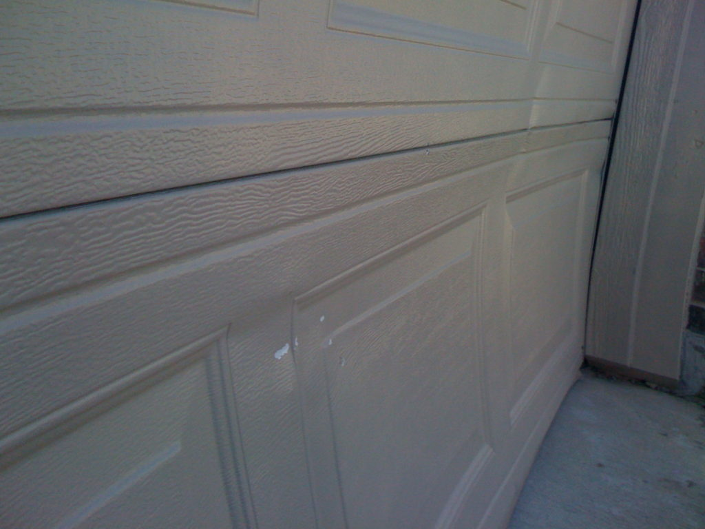AWE, POOR DOOR!  NEW PANELS MAYBE?